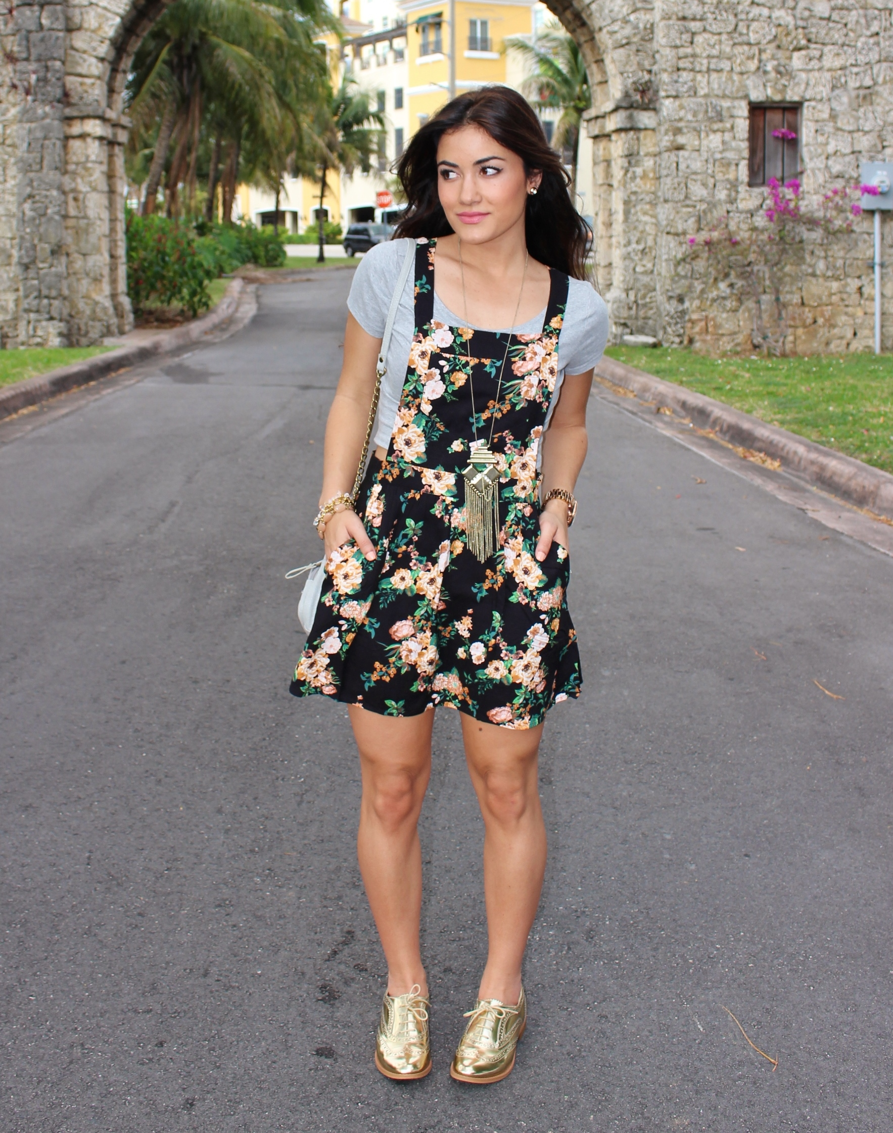 Denim Overall Dress Outfit images